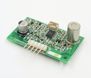 Příklad senzoru CO2 pro přímé řízení vzduchotechniky (zdroj: http://www.soselectronic.cz/)