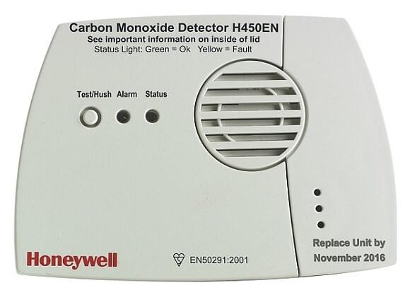 Skener oxidu uhelnatého Honeywell H450 EN