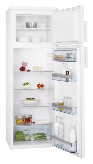 Kombinovaná chladnička srovnatelných parametrů, jako je ta moje, jen s lepší energetickou třídou (zdroj: www.aeg.cz)