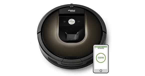 iRobot Roomba 980 (Zdroj: www.irobot.com)