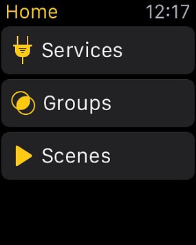 Displej chytrých hodinek iWatch (Zdroj: https://itunes.apple.com)