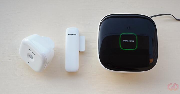 Základní sada zabezpečení domácnosti Panasonic Smart Home